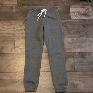 Forever 21  High Waisted Grey Sweatpants